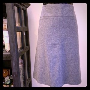 Banana Republic Classic Gray Skirt